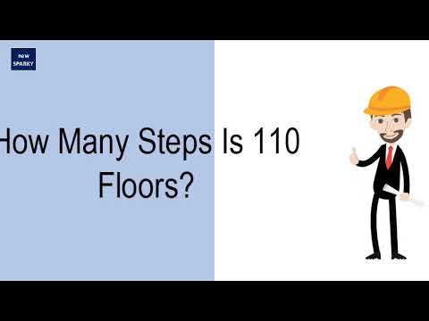 How Many Steps Is 110 Floors?
