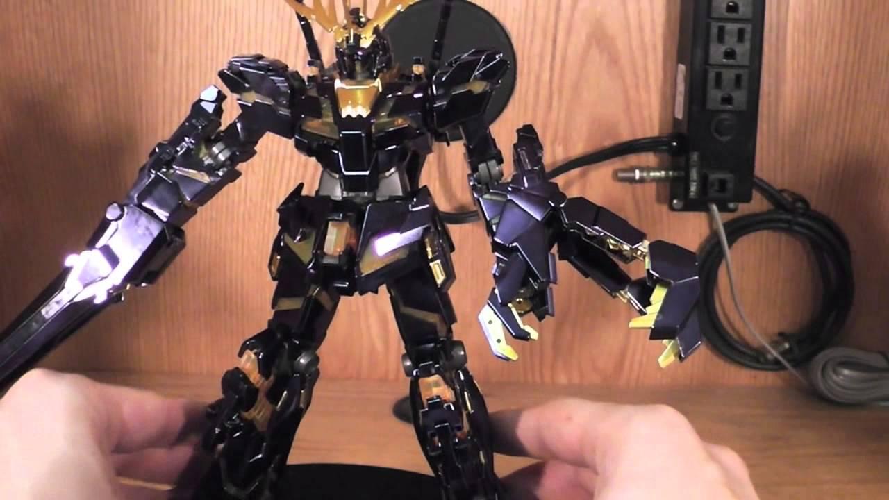 Mg 1 100 Rx 0 Unicorn Gundam 02 Banshee Titanium Finish Ver Review