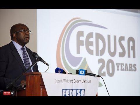 First public appearance for Finance Minister Nene
