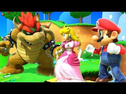 Bowser Attacks Princess Peach! - Super Smash Bros Ultimate Movie