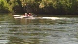 Dragoncraft Flatbottom V-drive Boat
