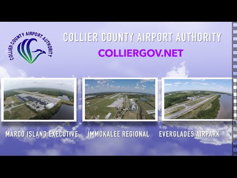 Collier County Airport Authority, Tour of Airports