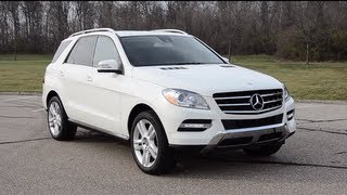 2013 Mercedes-Benz ML350 - WR TV ROAD POV Test Drive