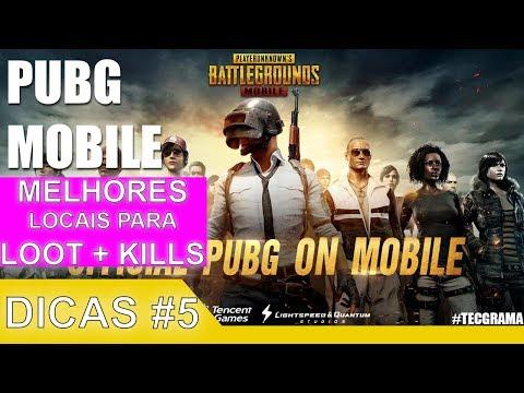 PUBG Mobile - Dicas #5   ✅ Melhores locais para Loot e PVP 💥   Kills Extras + Vitoria 🏆
