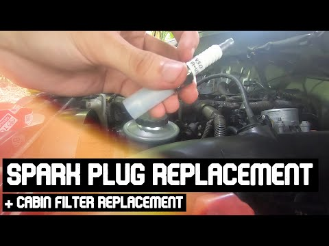 DIY Spark Plug and Cabin Filter Replacement