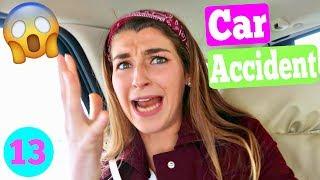 Car Accident!?! Huge Winter Snow Storm! thumbnail