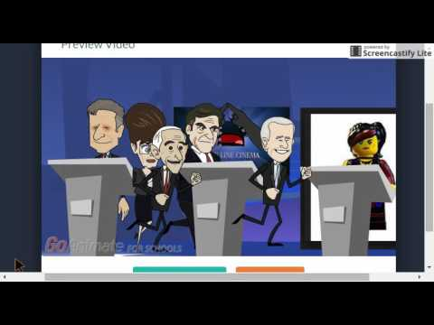 GoAnimate Election 2016: Crazy Election