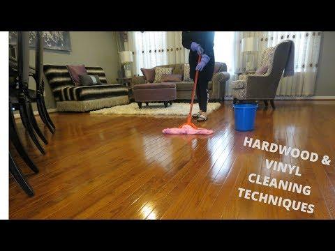 HOW TO CLEAN HARDWOOD & VINYL FLOORS | 2019