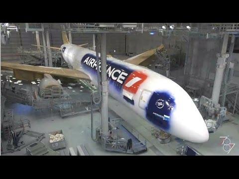 Pièce par pièce, le Boeing 787 d