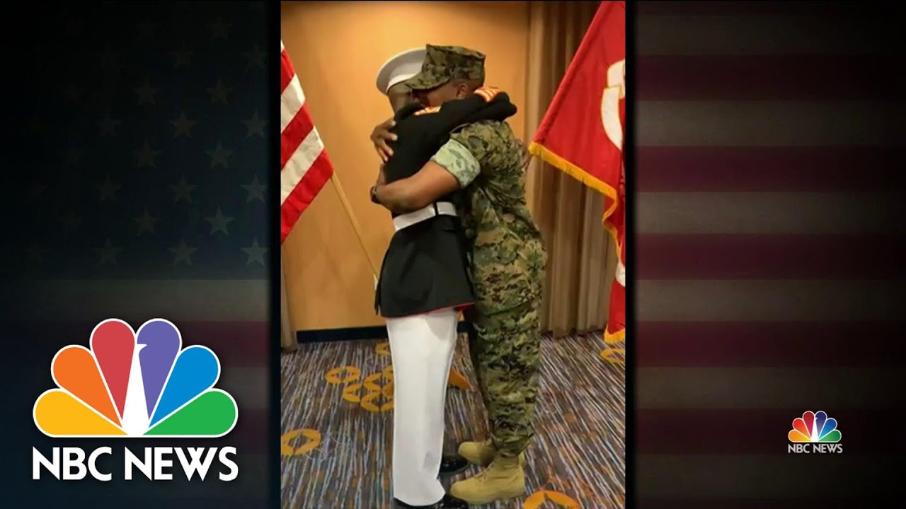 Download Father Honors Son With Emotional Military Salute | NBC Nightly News