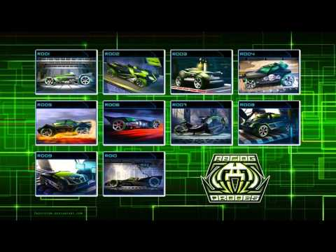 Hot Wheels Acceleracers - Racing Drones Theme (Audio)