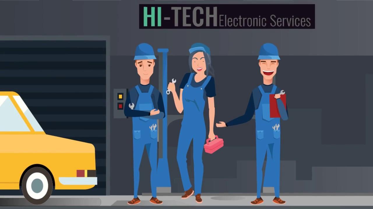 Car Audio Video Navigation Service Center - Hi-Tech