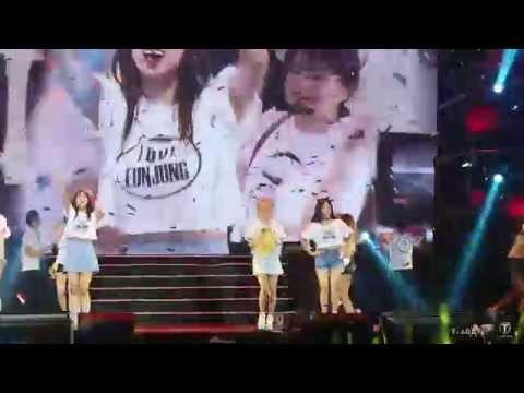 [Fancam] 151024 T-ARA (티아라) - Bye Bye @ Hefei Concert (22)