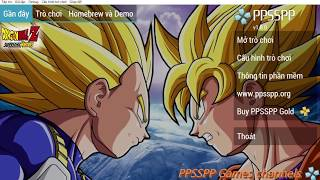 How To Download Ppsspp Games Dragon Ball Z