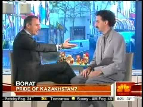 Borat On The Today Show