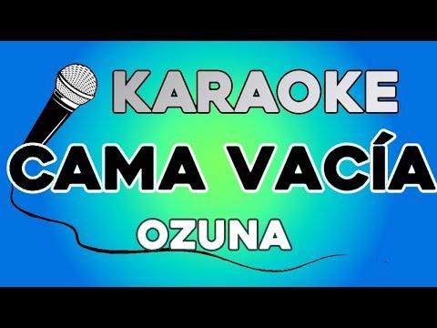 Ozuna - Cama Vacia KARAOKE con LETRA