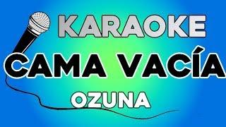 Ozuna - Cama Vacia KARAOKE con LETRA Video