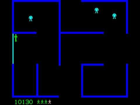 Arcade Game: Berzerk (1980 Stern)