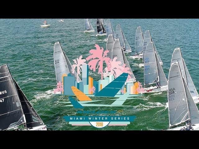 2018 Melges 20 Miami Winter Series Event No. 1 – Highlight Reel