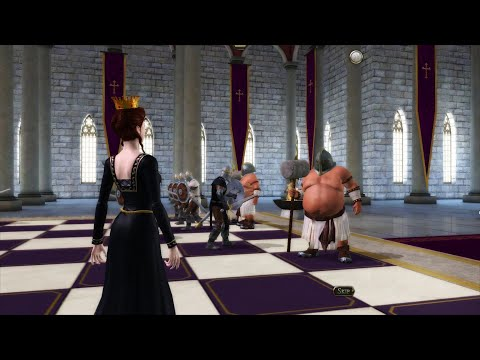 Battle Chess Game of Kings - ROOK vs QUEEN ((master level)) ((4k gameplay)) |