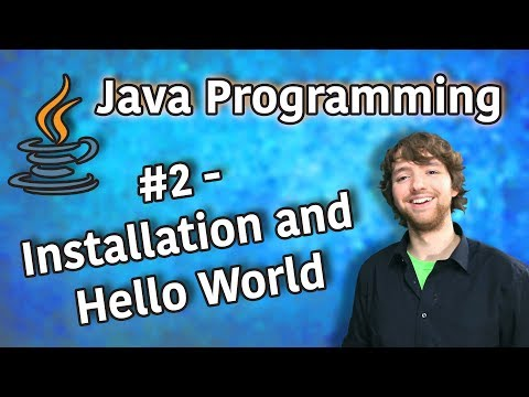 java-programming-tutorial-2---installation-and-hello-world