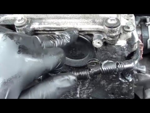 Landrover TD5 How To Replace The Front Cam Cover – RustySkull Productions