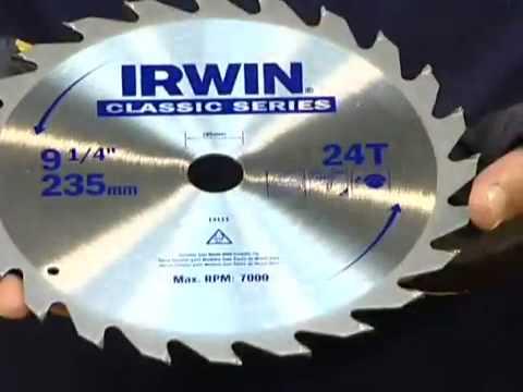 Disco Para Serras Circulares Irwin