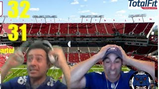 New York Giants Fans React To Go Ahead TD, Buccaneers Final Drive & Missed Field Goal