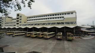 Airport-like State-of-the-art bus terminal of Rajkot, Gujarat