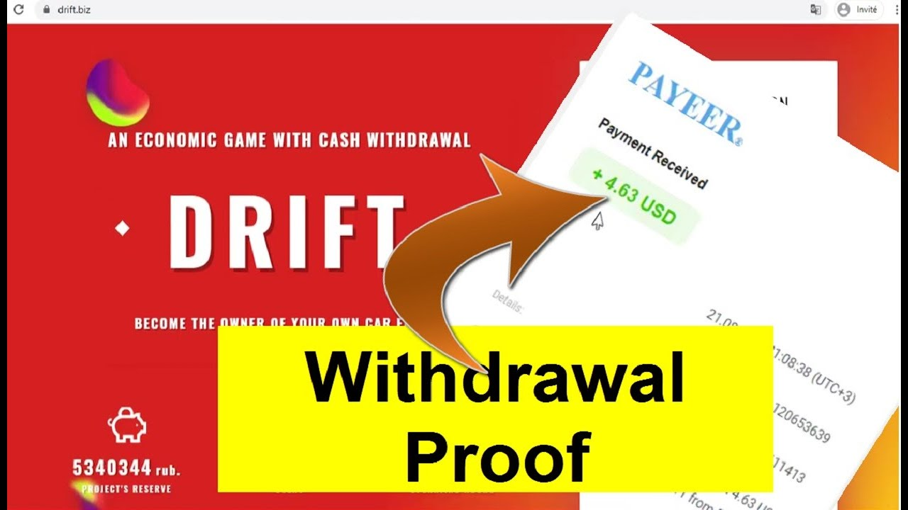 How To Earn Free Ruble Without Investment |Drift New Payment Proof ...