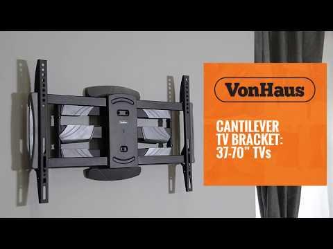 VonHaus Cantilever TV Bracket: 37-70
