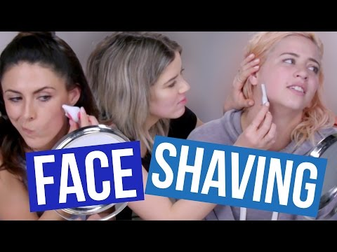 Thumbnail: We SHAVED Our Faces?! (Beauty Break)