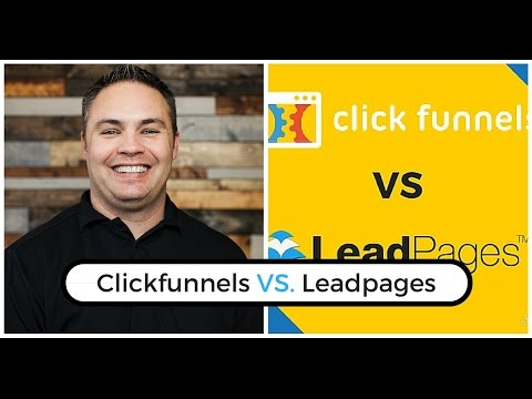 Clickfunnels vs Leadpages -  Funnel Hacking Sales Funnels With The Best Tools Out There