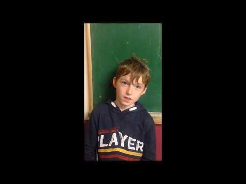 ETTV Senior Analyst Sean Considine (Aged 8) on the County Final