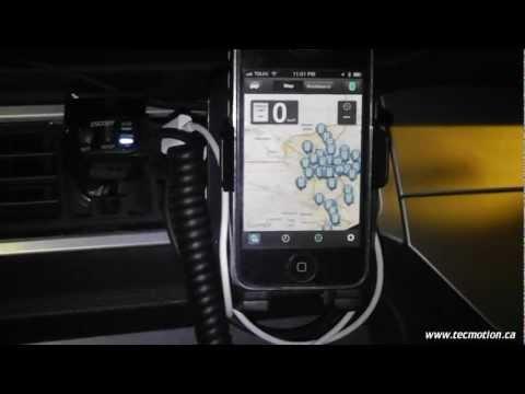 Escort Live Bluetooth Background Connection Trick
