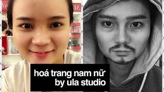 Hoá trang: Nữ - Nam (female to male transformation) ULASTUDIO