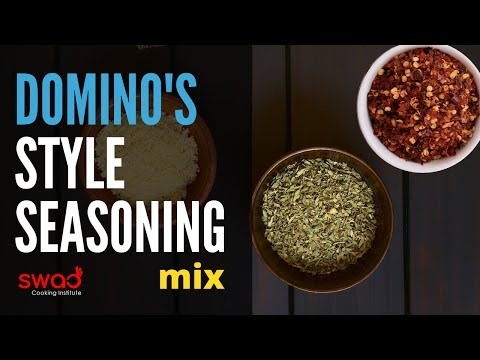 Dominos Style Seasoning in 2 Minutes | Dominos Spice mix recipe | Dominos Oregano & Chilli Flakes