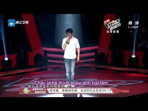 [Vietsub The Voice China 2013] Không thể rời xa em - Chu Khắc