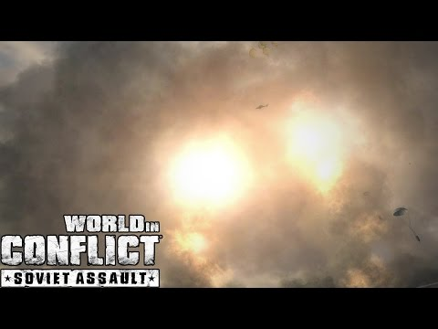 World in Conflict Assault on Typhoon 2 Tactical Nuclear Missiles!