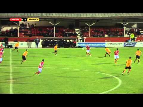 Ebbsfleet United v. Cambridge United 4-12-12