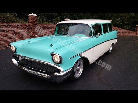 1957 chevrolet 150 wagon for sale old town automobile in maryland youtube. Black Bedroom Furniture Sets. Home Design Ideas