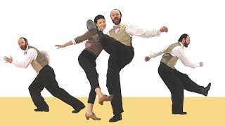 Long-legged Charleston - how to dance this step
