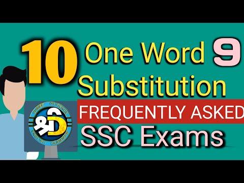 बार-बार पेपर में आने वाले One Word Substitution,सबसे आसान ट्रिक,Ssc/Bank/Railway/Teacher