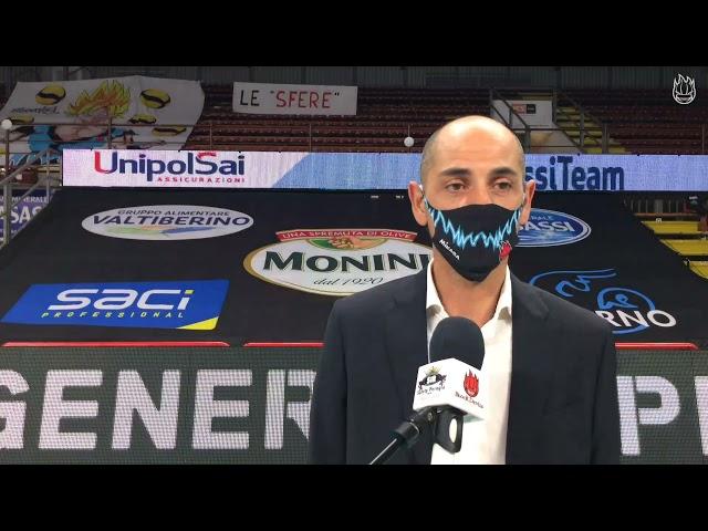 Carmine Fontana commenta la sconfitta con Civitanova