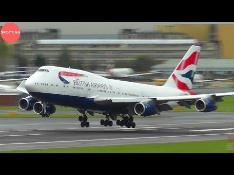 Amazing Plane Spotting at London Heathrow | 45 mins w/ Stunning HD Heavies!