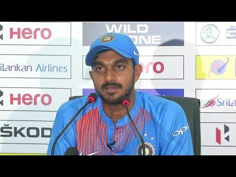 Dropped catches didn't affect me much - Vijay Shankar