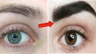 In just 3 Days Grow Long & Thicker Eyebrows Naturally | Homemade Serum with Vaseline