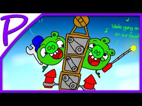 Игра Плохие свиньи 2 онлайн Bad Piggies HD 2 играть
