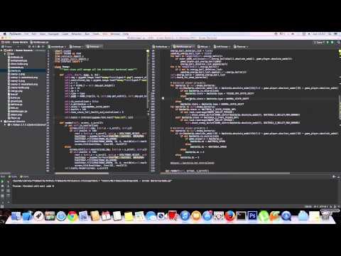 Python Timelapse Game Programming ( Ludum Dare 31 )