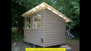 Make Your Own Chicken Coop Easy Way!!